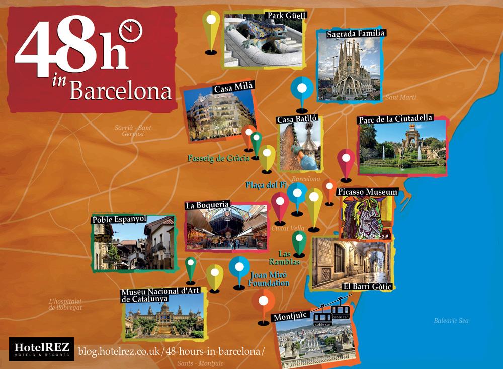 48h in Barcelona