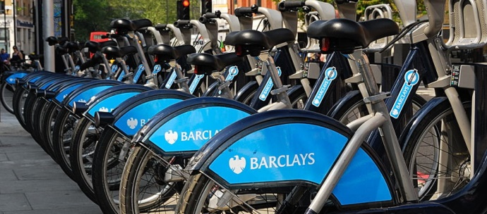 barclays bike_green london