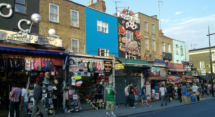 Camden Town_London for Music Buffs