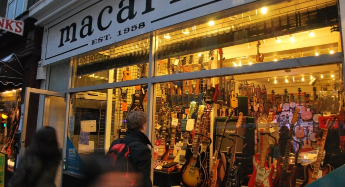 Denmark Street_London for Music Buffs