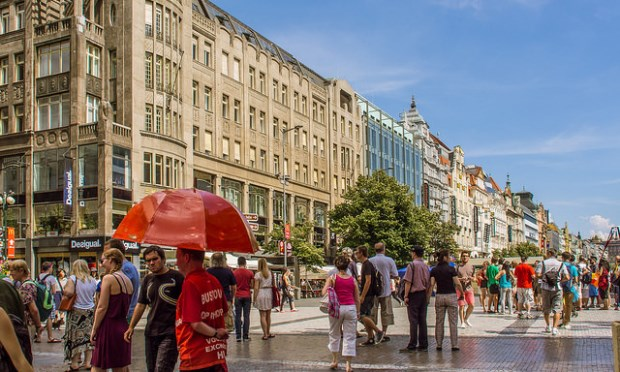 wenceslas square_48hours in Prague