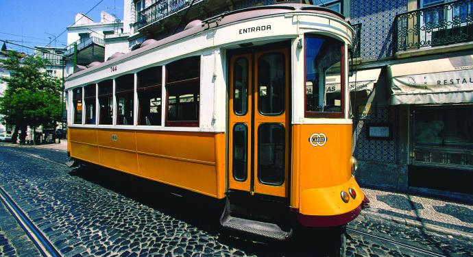 Lisbon tram_family-friendly portugal