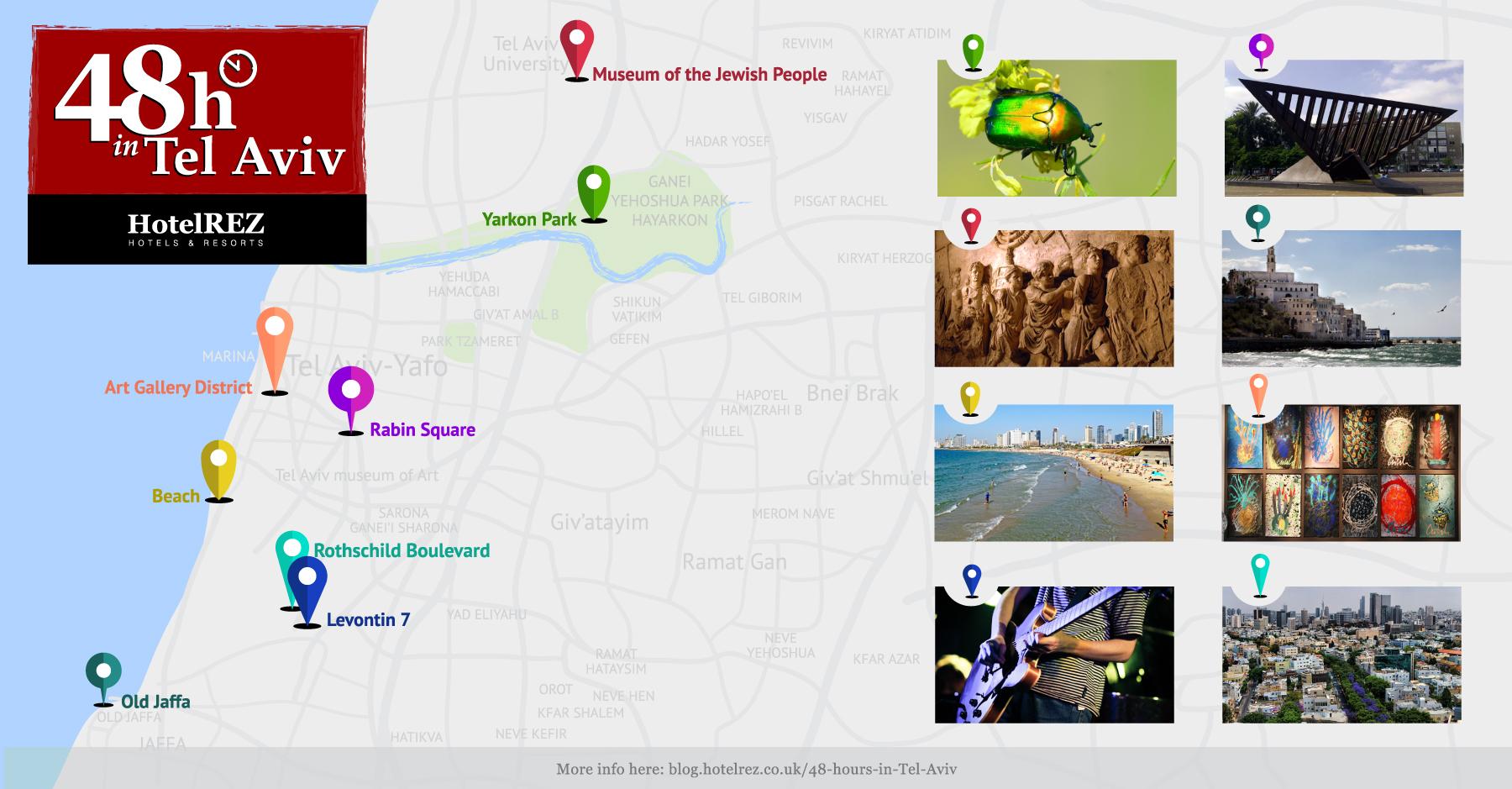 Tel Aviv_Map